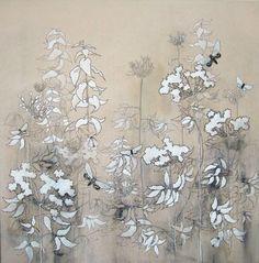 Henrik Simonsen - oil and graphite on canvas .   90 x 90 cm  2006