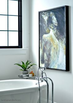 How to frame artwork like a pro kids crafts pinterest artwork diy ideas for framing big art on a small budget solutioingenieria Images