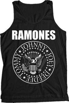 29b062ff721d5b Ramones Classic Seal Tank Top