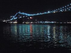 NYC lights on the water