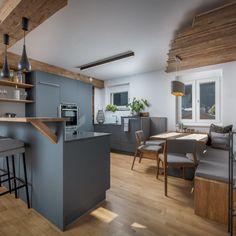 Küche & Essbereich Colours, Lounge Ideas, Kitchen, Table, Nooks, Furniture, Home Decor, Diy, Home