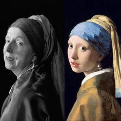Une photographe de 65 ans recrée les chefs d'œuvre de la peinture en autoportraits