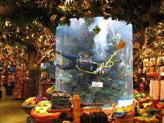 Rainforest cafe Interior design