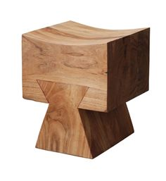 Arte en madera. // Wooden stool by galangaliving - Curve your Buttocks! #art #design