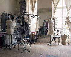 Couture fashion studio