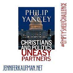 #EmptyShelfChallenge Book Review: Christians and Politics | jenniferkaufman.net
