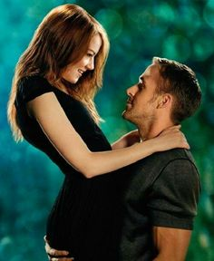Hannah and Jacob / Emma Stone and Ryan Gosling #CrazyStupidLove