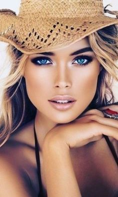 Model Face, Light Hair, Body Shapes, Face And Body, Erotica, Pretty People, Superstar, Cowboy Hats, Lady