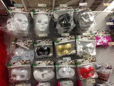 Sparrows blank masks
