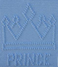 Ravelry: Prince Crown Baby Blanket by Marilyn Sehn