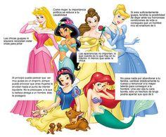 Personajes femeninos de Disney