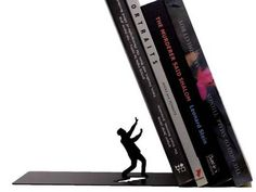 5. Falling £14, bouf.com Bookend made of a thin metal - The Independent