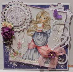 angelic crafter ~ SC Magic Books & Unicorns ~ Copics: E000, 04, 30, 31, 40, 43  R00, 20, 81, 83, 85, 89 YG03, 67 C0, 3 B000 BV0000, 20, 23, 25