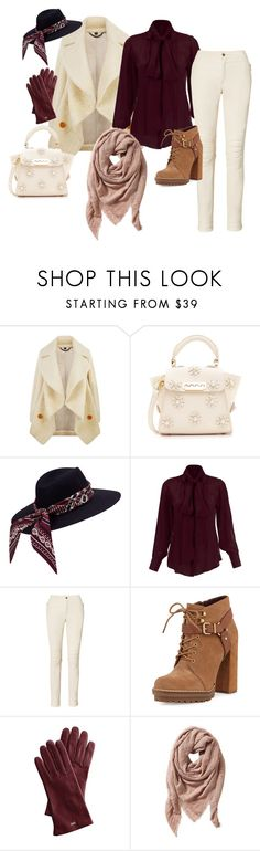 Cold Autumn by dialt-troffi on Polyvore featuring мода, Burberry, Ralph Lauren, BCBGeneration, ZAC Zac Posen, TravelSmith and Mark & Graham