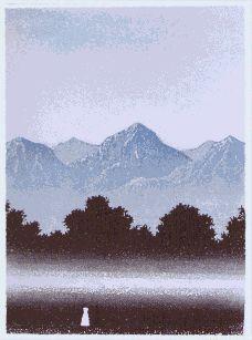 Vuoret 1998 Väinö Rouvinen 1998 Printmaking, Mountains, Nature, Travel, Art, Etchings, Prints, Art Background, Naturaleza