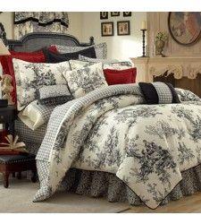 Thomasville Bouvier Toile Comforter Set