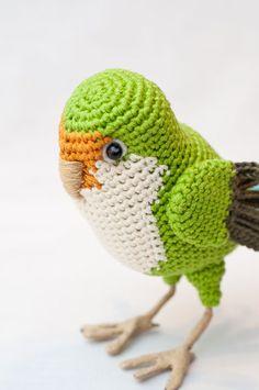 Mesmerizing Crochet an Amigurumi Rabbit Ideas. Lovely Crochet an Amigurumi Rabbit Ideas. Crochet Bird Patterns, Crochet Birds, Cute Crochet, Crochet Animals, Crochet Baby, Knit Crochet, Crochet Stitches, Crochet Patterns Amigurumi, Amigurumi Doll