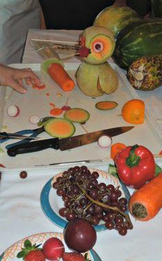 Fruit Animal   #fruit  #fruit centerpiece #fruit creation   grandparentsplus.com