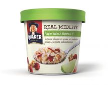 Quaker Real Medleys Oatmeal @Quaker #RealMedleys The best oatmeal; fast, easy, and delicious! @Influenster #Holiday Vox Box