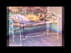 Sedia & Panchetta . Chair & Bench . Martelli Ferro Battuto