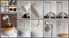 Cake/Icing tutorials and tips Cheryl Cottle Cakes To Make, How To Make Cake, Cake Decorating Techniques, Cake Decorating Tutorials, Cookie Decorating, Decorating Cakes, Anti Gravity Cake, Gravity Defying Cake, Cake Icing