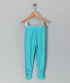Turquoise Ruched Leggings - Infant & Toddler. Turquoise Ruched Leggings - Infant & Toddler