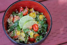 What's Cookin' with Mary?: Quinoa Salad for One