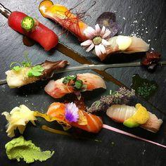 by @chefjohn ・・・ Sushi Sunday