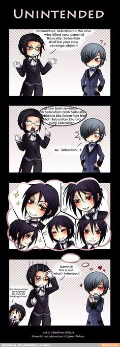 Will there you go, even ciel can be a fan of sweet bassy