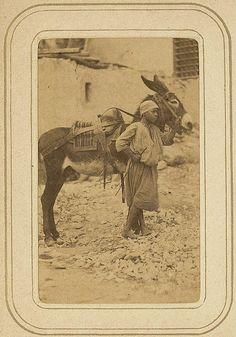 Reisalbum Constantine Algeria pm 1880 portretten inwoners (37). Courtesy: janwillemsen (Netherlands).