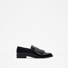 Image 1 of FRINGED PENNY LOAFER from Zara