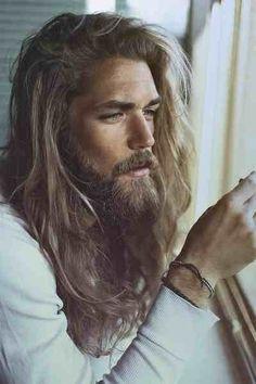 Long haired men