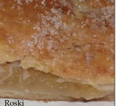 """roski-cocina y algo mas-yus: Empanada de Manzanas """"receta de mi familia """""""