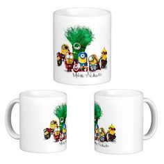 Minions avengers mug tea #coffee custom #printed cup gift #present idea,  View more on the LINK: http://www.zeppy.io/product/gb/2/231403254765/