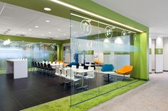 RUBIN & ROTMAN ARCHITECTS | The facility has been designed to enhance collaboration and creative thinking, as well as the sharing and developing of ideas, all in keeping with Merck's new global workplace standards. Mer...