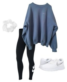 *26 by kkayyllee on Polyvore featuring polyvore, fashion, style, NIKE and clothing