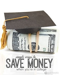 With the rising cost of college tuition and other expenses of furthering your education it is important to seek out college money saving tips. Take a look at these 5 college money saving tips so that you don't break the bank while you are getting an education.