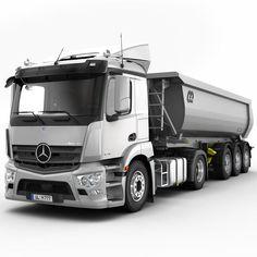 Mercedes-Benz #Antos  #mbhess #mbtrucks