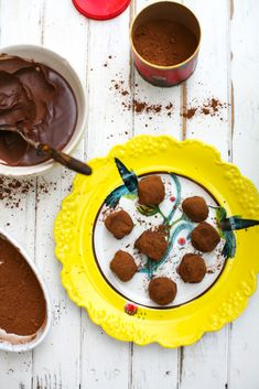 cinnamon, sea salt and chilli chocolate truffles...there's too much goodness here