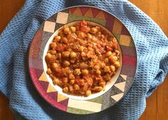 Garlicky Chickpea Soup