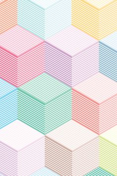 geo pastel! #geometric #surfacedesign