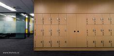 Gallery Keyless.Co Office Lockers, Wood Lockers, Office Interior Design, Office Interiors, Office Storage, Locker Storage, Locker Designs, Storage Solutions, Saints