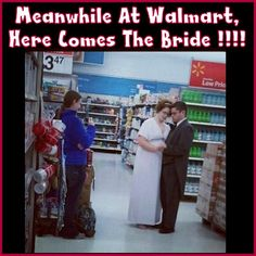 I Wonder What Aisle They Met In !!!!