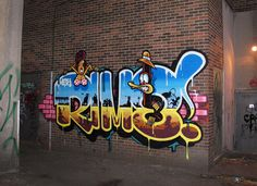 Juxtapoz Magazine - Rime Stylin on them. Graffiti Piece, Graffiti Murals, Graffiti Lettering, Street Art Graffiti, Graffiti Bridge, Graffiti Writing, Graffiti Artists, Graffiti Doodles, Graffiti Tagging