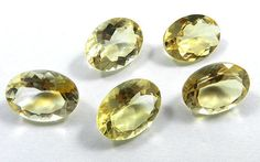 5Pc! Wholesale Lot NATURAL CITRINE 9x11mm Oval Faceted Latest Quality Gemstone #Shining_Gems