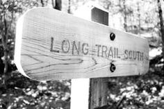 Long Trail South Sign Stock Photos Photographer Portfolio, Vermont, Trail, Sign, Stock Photos, Outdoor Decor, Signs, Board