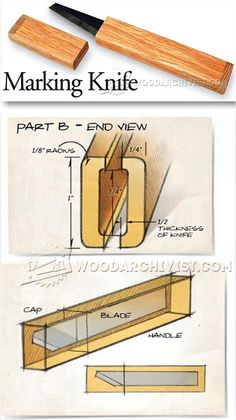 Making Knife - Hand Tools Tips and Techniques | WoodArchivist.com