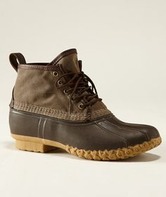 """Waxed Canvas 6"""" Maine Hunting Shoe, Men's: FOOTWEAR 