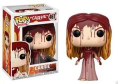 Movies: Horror - Carrie -- From Carrie, Carrie, as a stylized pop vinyl from Funko! Stylized collectable stands 3 ¾ inches tall, perfect for any Carrie fan! Collect and display all Carrie Pop! Funk Pop, Pop Figurine, Figurines Funko Pop, Jeepers Creepers, Pop Vinyl Figures, Captain Marvel, Marvel Dc, Halloween Look, Halloween Makeup