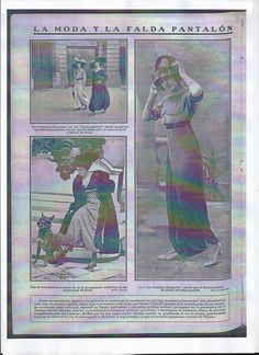 Jupe-culotte 1911 All That Jazz, Historian, French, Baseball Cards, Fashion Styles, French People, French Language, France